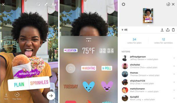 Instagram Stories Polls