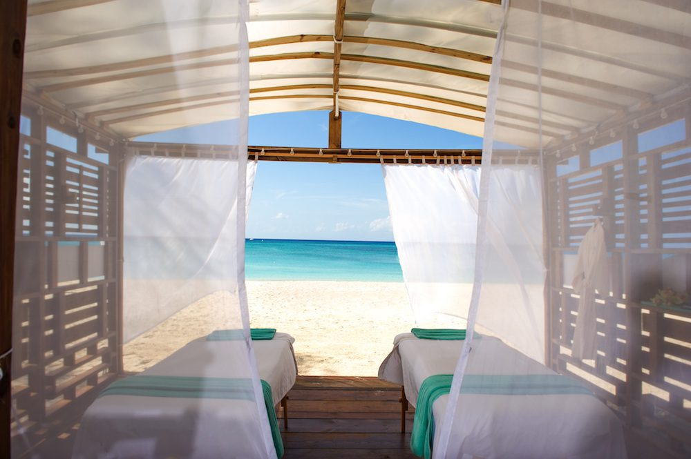 Beachside Cabana
